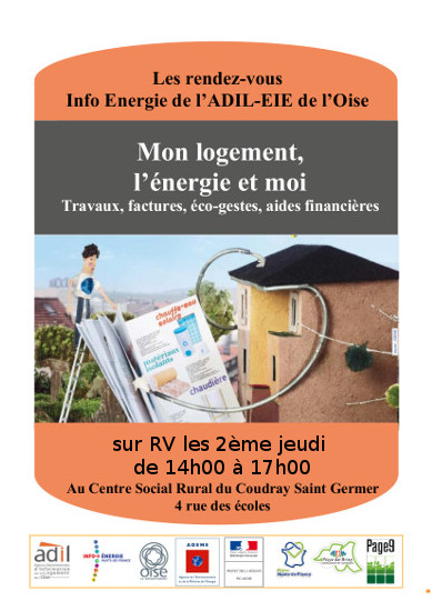 affiche RDV INFO ENERGIE coudray