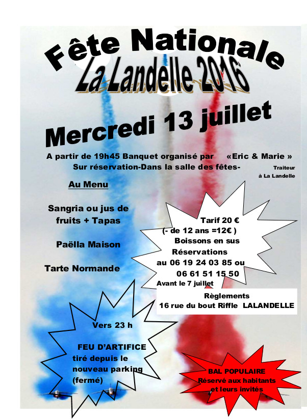 fete nationale 13 07